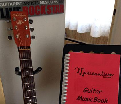 Foto lezione di chitarra