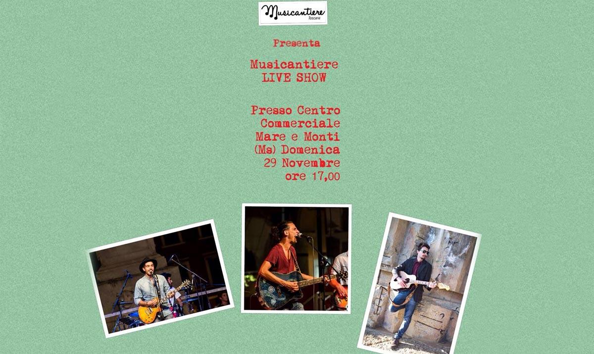 Show live del Musicantiere al Carrefour