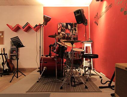 Foto della sala prove