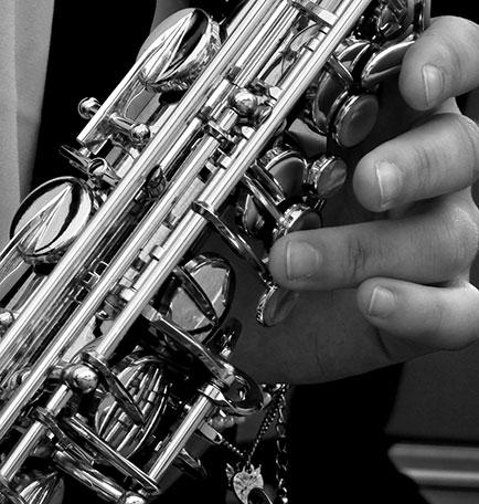 Foto lezioni di sassofono
