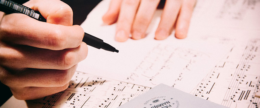 Foto principale per il laboratorio di scrittura delle canzoni